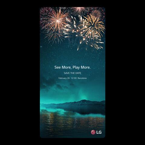 Ankündigung zur Präsentation des LG G6