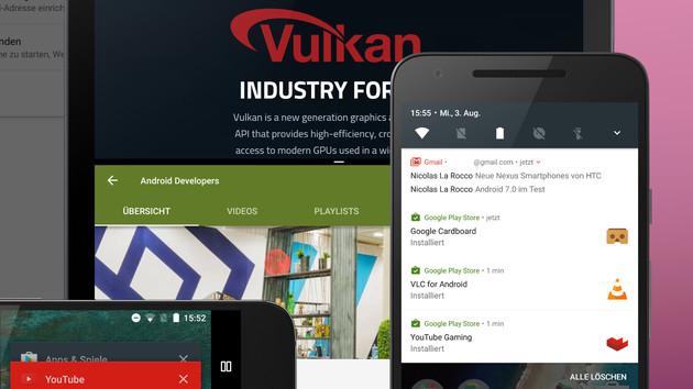 Samsung: Android 7.0 kommt für zehn Smartphones und Tablets