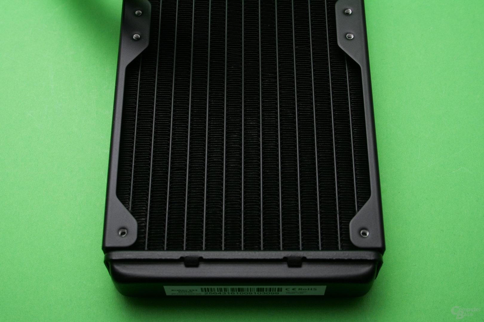 NZXT Kraken X52: Gut verarbeiteter Radiator