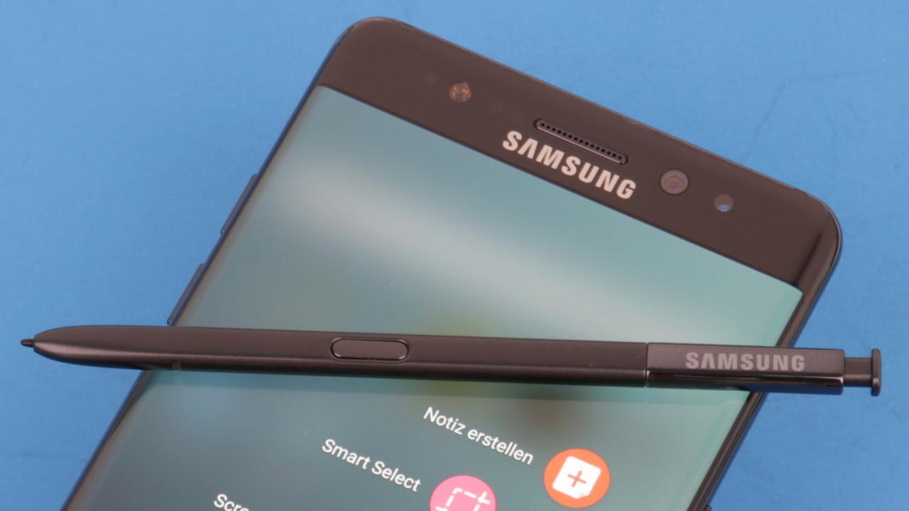 Galaxy Note 7: Abschlussbericht nennt Akkulieferanten als Schuldige