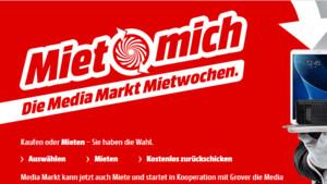 Media Markt: Produkte mieten statt kaufen