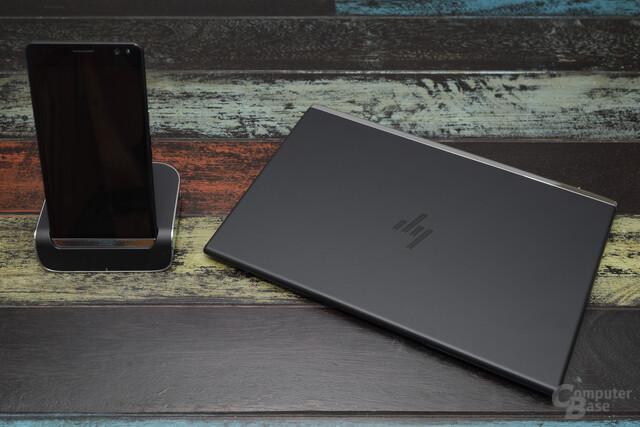 HP Elite X3 mit Desk Dock und Lapdock
