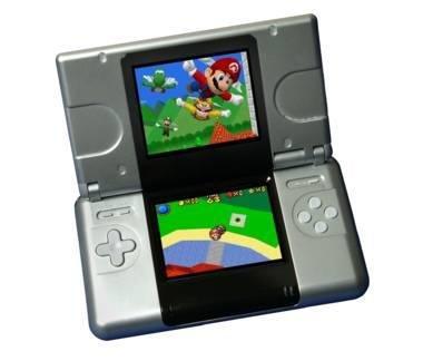 Nintento DS mit Spiel Super Mario