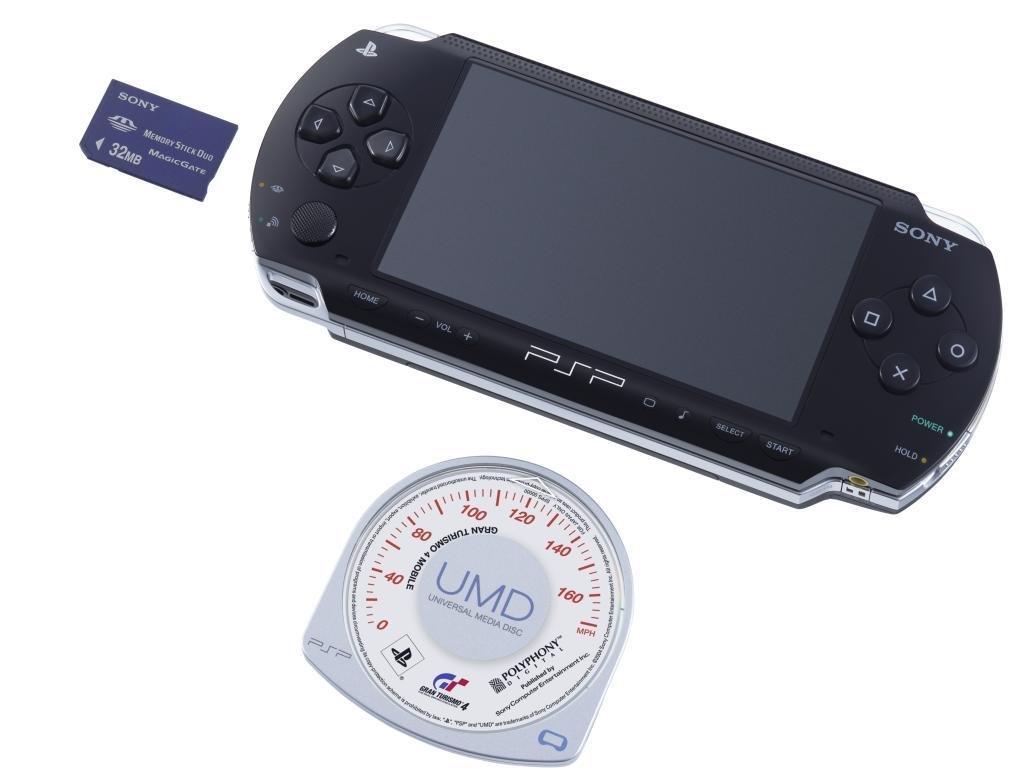 Sony Playstation Portable mit Zubehör