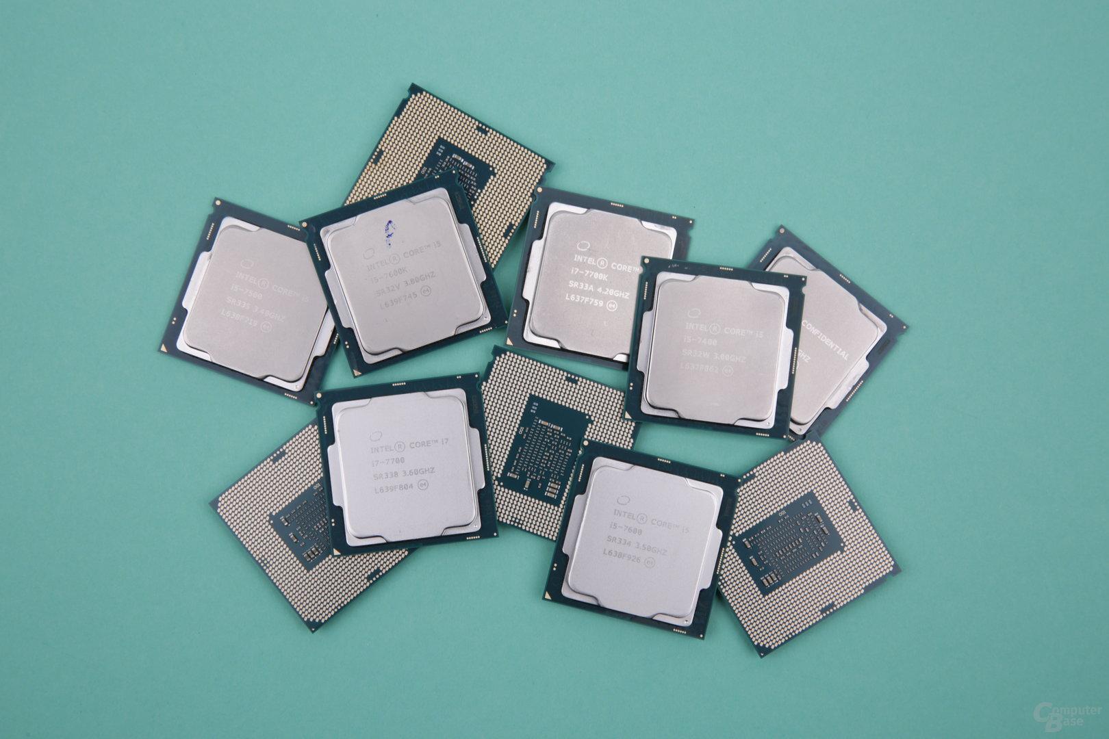 Intel Kaby Lake im Test: Core i7, i5, i3, Pentium und Celeron im Vergleich