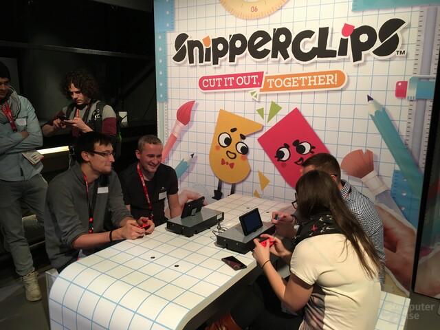 Spaßiger Rätselspaß: Snipperclips