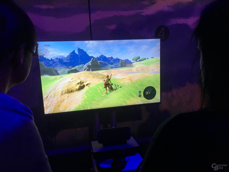 Zelda: Breath of the Wild durfte nur 20 Minuten angespielt werden