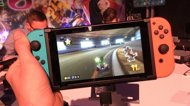 Nintendo Switch: Melken, Kartfahren und Boxen im TV- oder Handheld-Modus