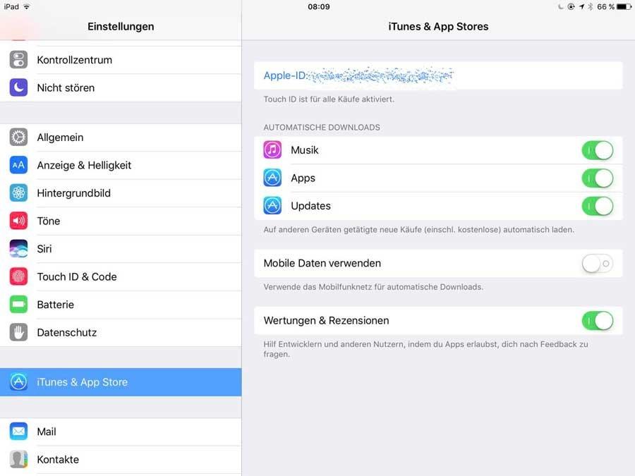 """iOS 10.3 – """"Bitte bewerte die App"""""""