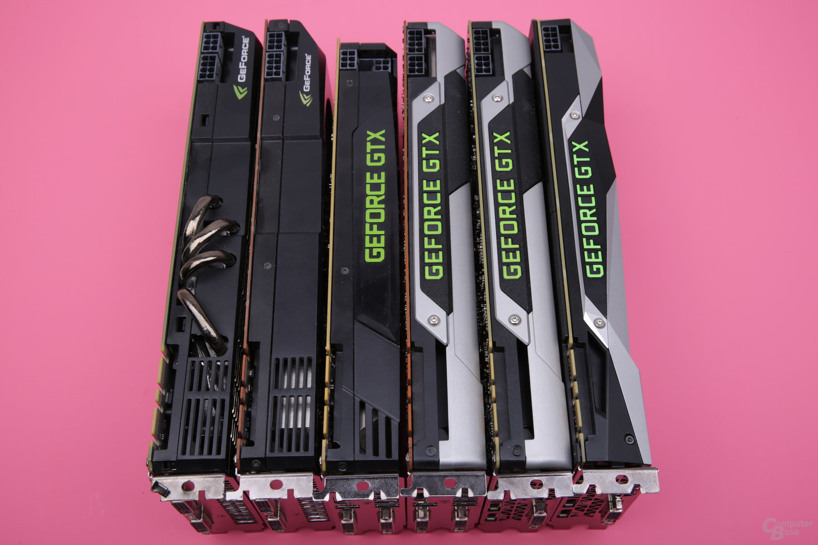 High-End-Grafikkarten von Nvidia seit 2010