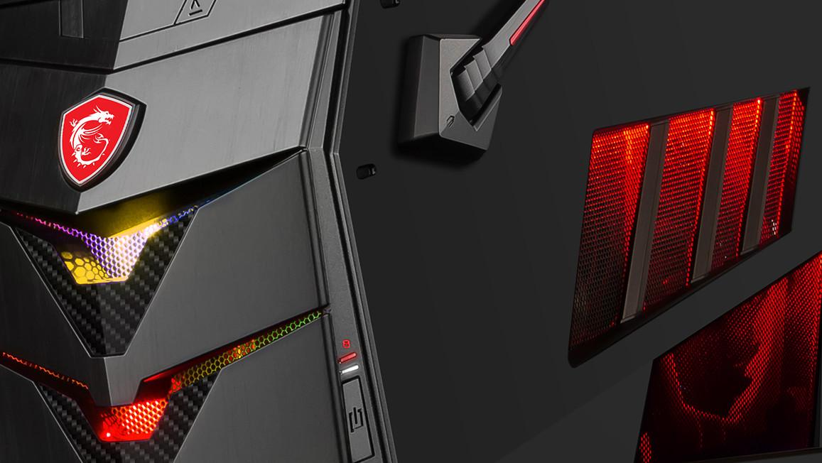 MSI Aegis und Nightblade: Kompakte Komplett-PCs mit Kaby-Lake in neuem Gewand