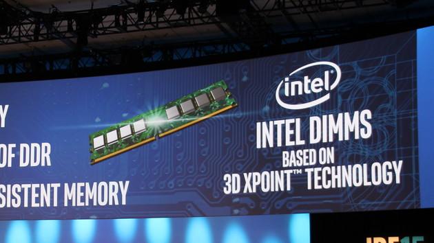 Intel: Optane-DIMMs als Muster und Kostenvorteil bei 3D-NAND