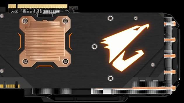 Aorus GTX 1080 Xtreme Gaming: Gigabytes Luxus-Grafikkarte mit Kupfer-Backplate