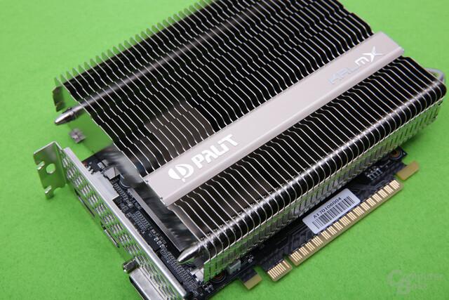 Palit GeForce GTX 1050 Ti KalmX im Test