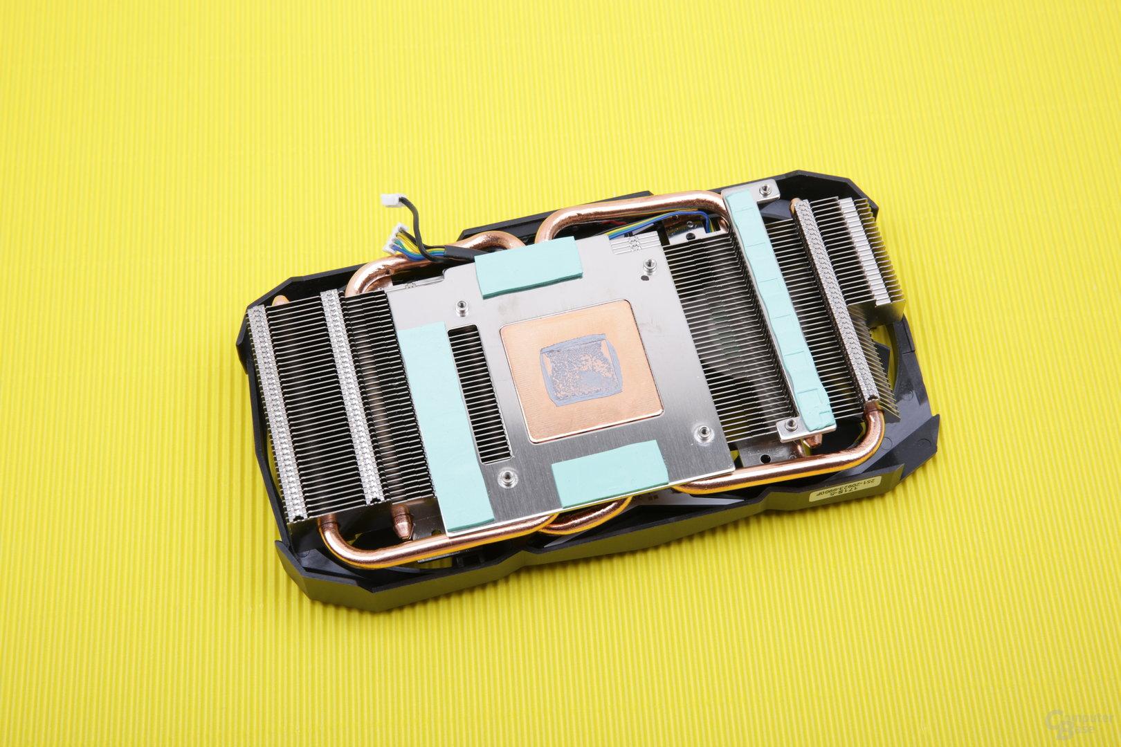 Zotac GeForce GTX 1080 Mini – Kühlerrückseite