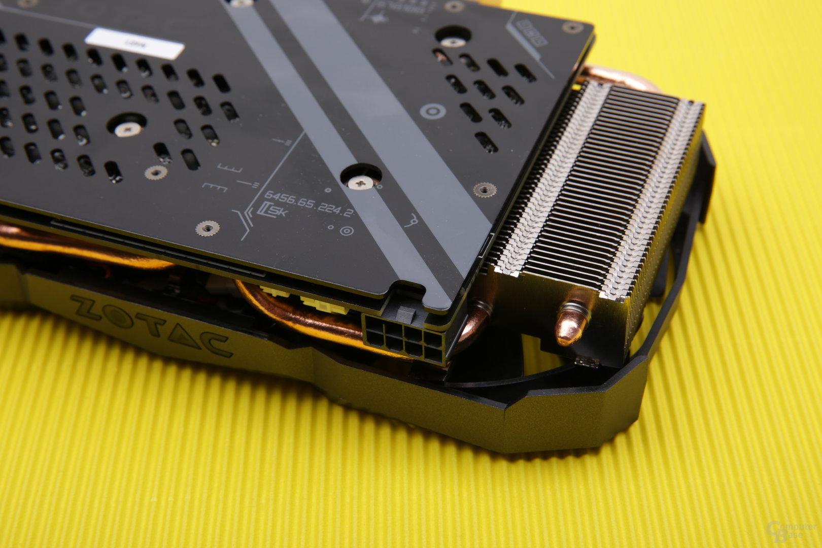 Zotac GeForce GTX 1080 Mini – Stromanschluss