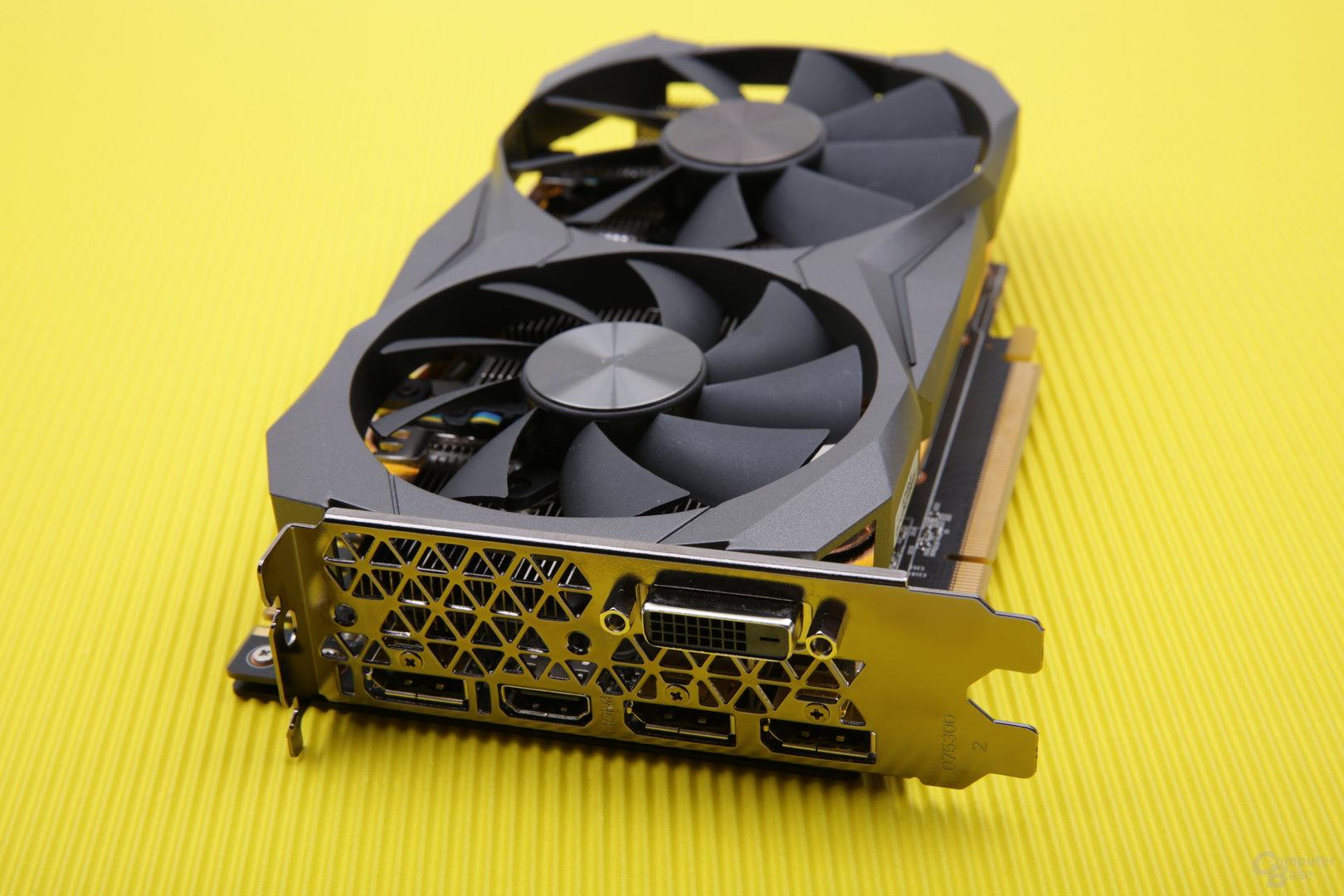 Zotac GeForce GTX 1080 Mini – Anschlüsse