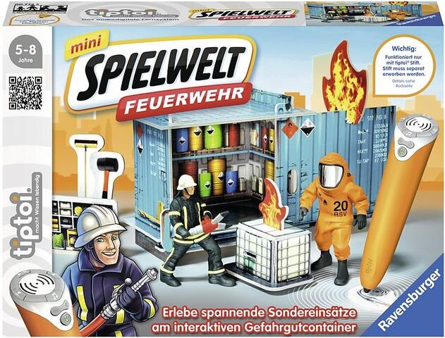 """mini Spielwelt """"Feuerwehr: Gefahrguteinsatz"""""""