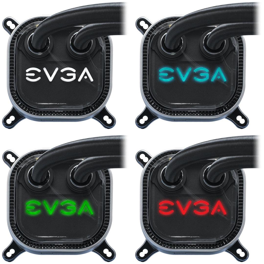 EVGA CLC: Farbig beleuchtete Pumpeneinheit