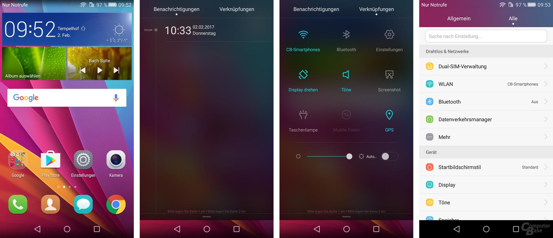 Huawei Y6 II Compact: Vollständig überarbeitetes Android
