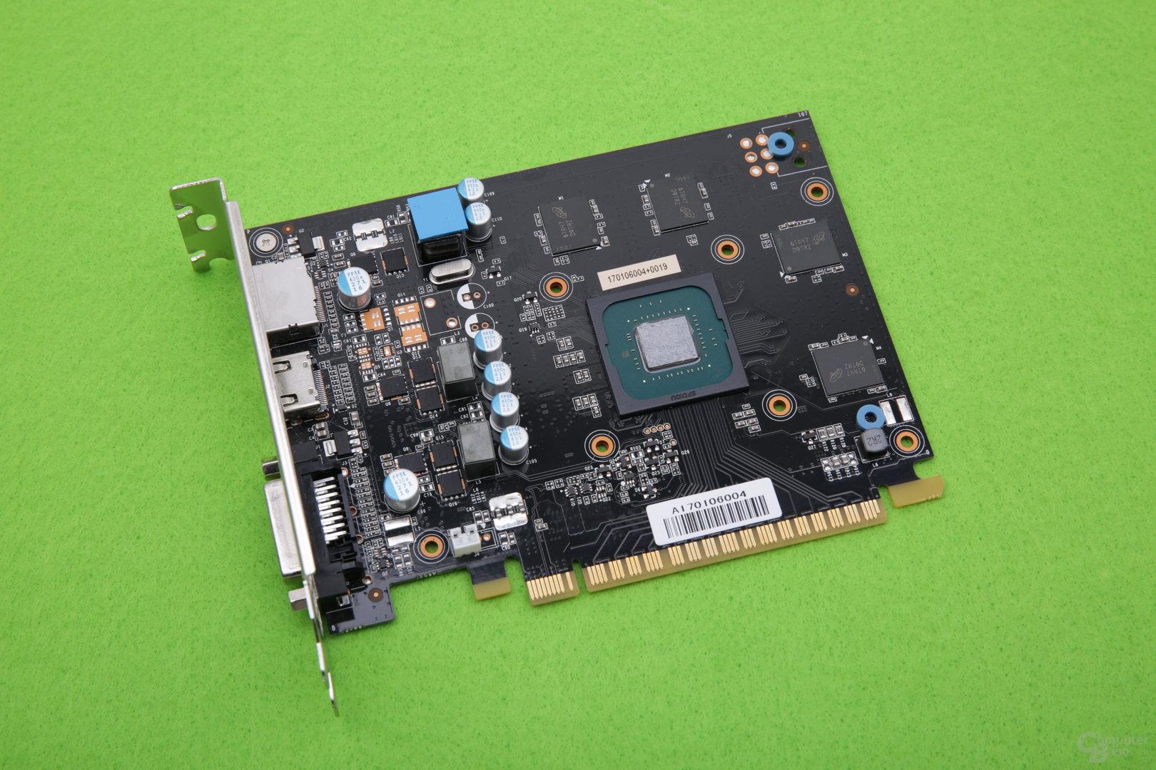 Palit GeForce GTX 1050 Ti KalmX – ohne Passivkühler