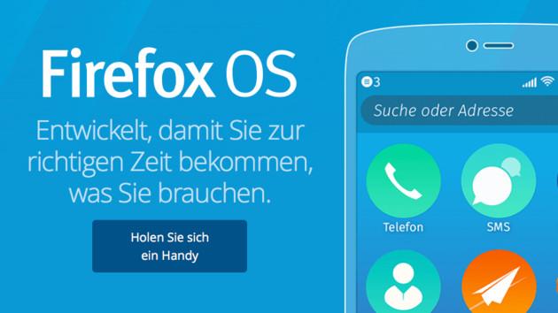 Firefox OS: Mozilla gibt eigenes Betriebssystem komplett auf