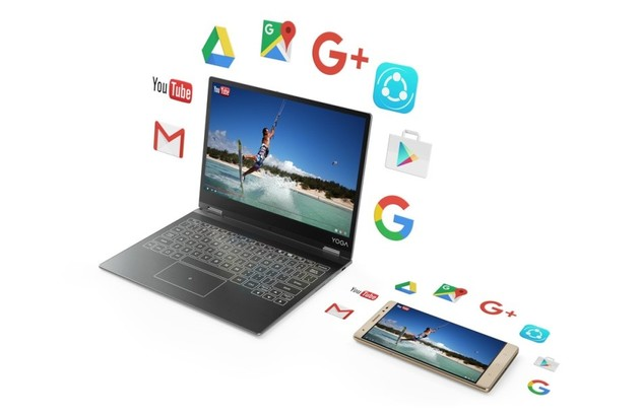 Das Lenovo Yoga A12 auf Basis des Yoga Book