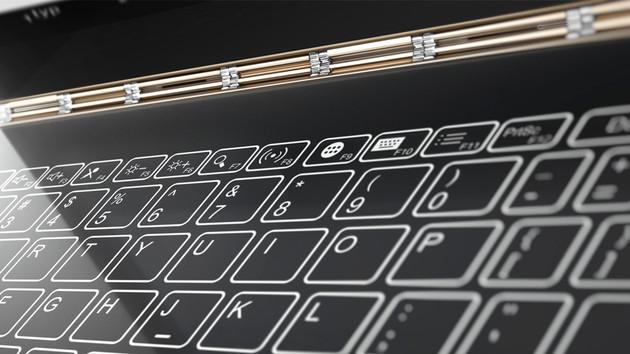 Lenovo Yoga A12: 2-in-1 mit Android und Halo Keyboard für 299 US-Dollar