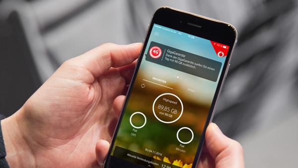 Kostenloses Datenvolumen: Vodafone verschenkt einmalig 100 GB