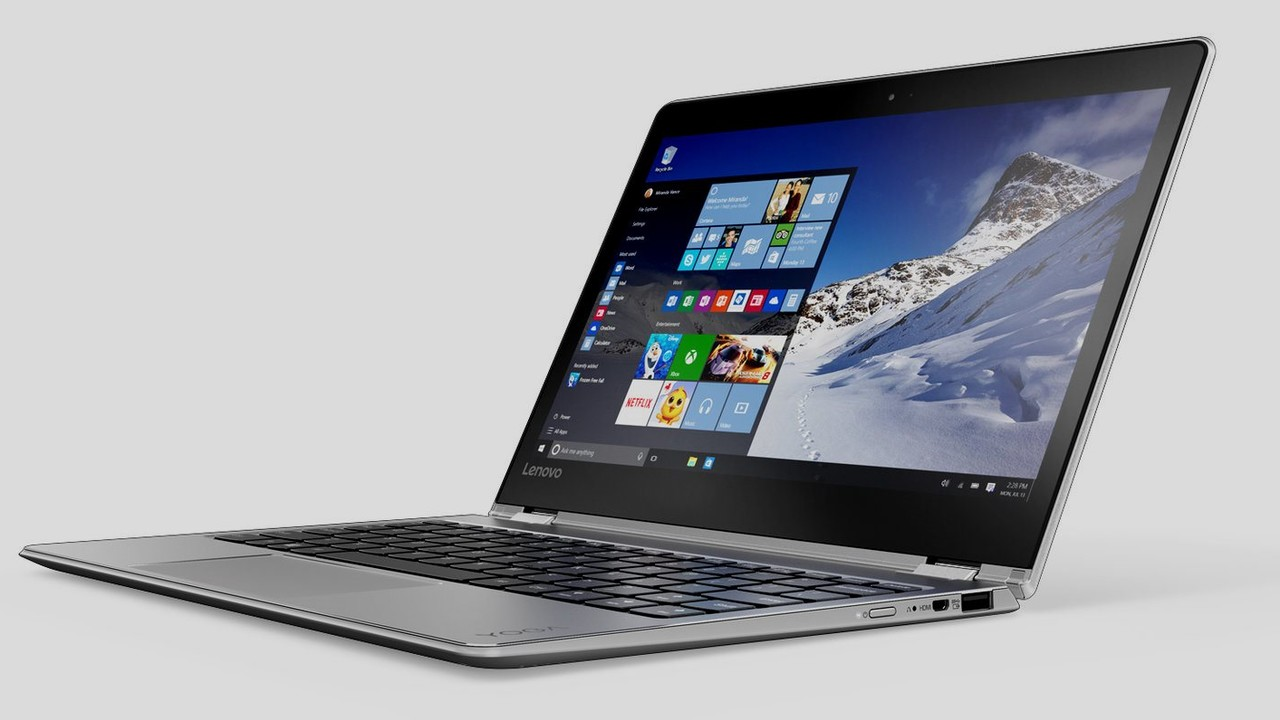 Lenovo Yoga 710: Convertible mit m3-6Y30 und 256 GB SSD für 666 Euro