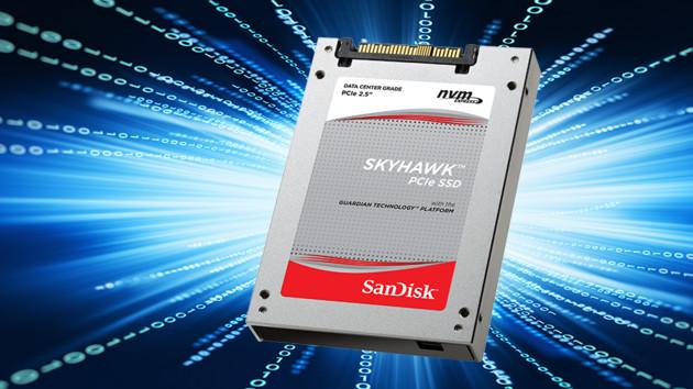 Skyhawk: SanDisks erste NVMe-SSDs für Cloud-Server