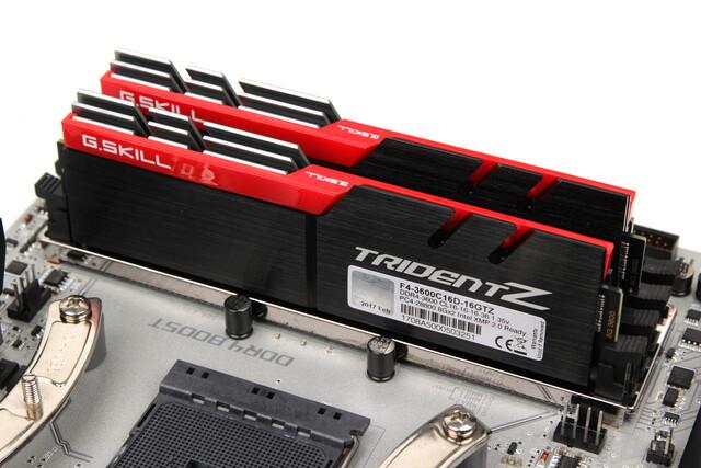 Erreichen mit Ryzen im Test, was drauf steht: DDR4-3.600