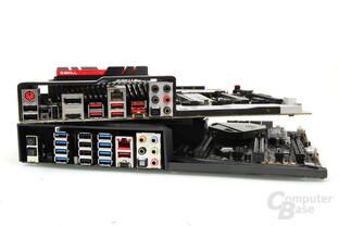Die Mainboards bieten USB satt, aber kein Monitorausgang