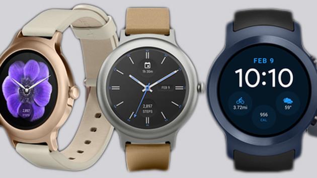 Smartwatches: LG Watch Sport und Style setzen auf Android Wear 2.0