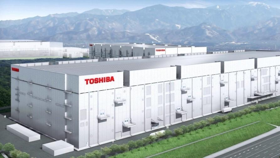 Toshiba Fab 6: Bau der 3D-NAND-Fabrik wie geplant gestartet