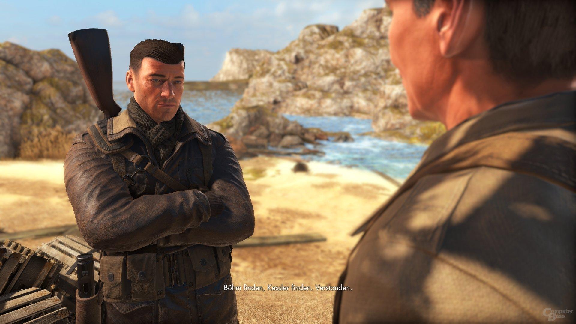 Sniper-Protagonist Fairburne