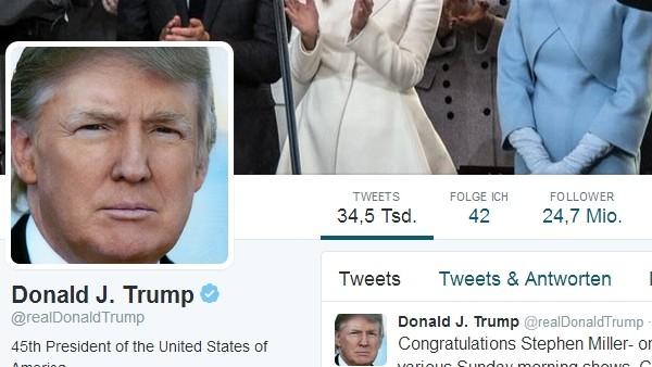 Soziales Netzwerk: Antworten auf Trump überlasten Twitter