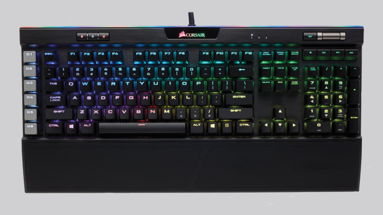 Corsair K95 RGB Platinum im Test: Tastatur-Flaggschiff macht fast alles richtig
