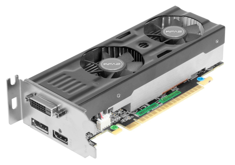 KFA2 GeForce GTX 1050 (Ti) OC LP
