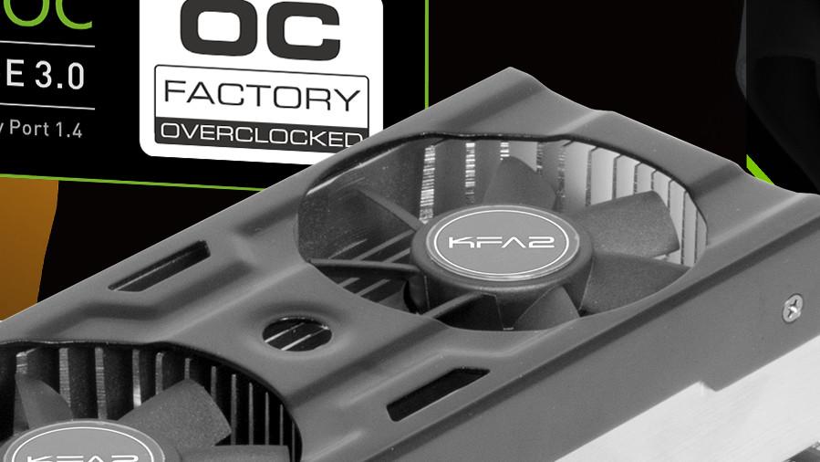 KFA2: GeForce GTX 1050 (Ti) in Low Profile mit Werksübertaktung