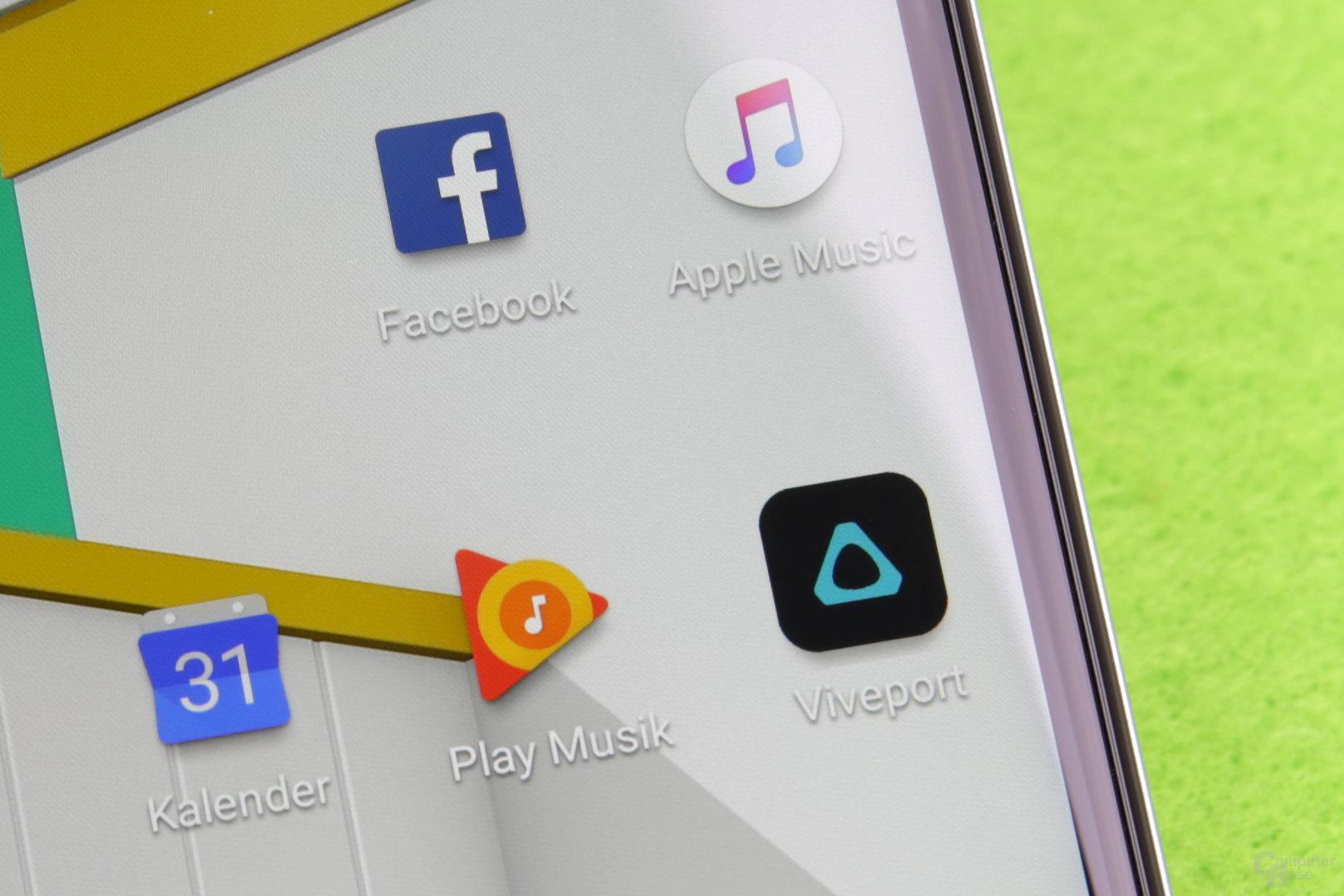 U-Play-Display im Detail