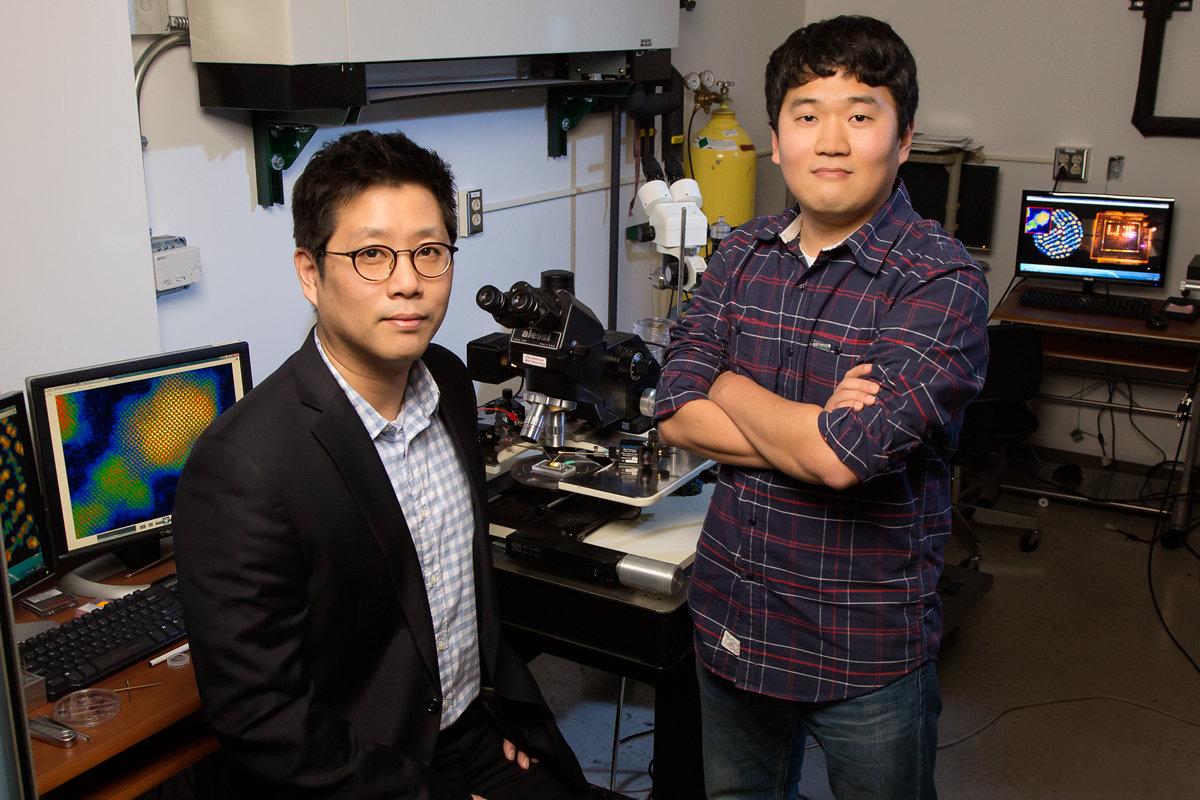 Die Forscher Moonsub Shim und Seongyong Cho