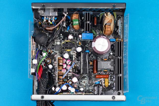 FSP Hydro X 550W – Überblick Elektronik