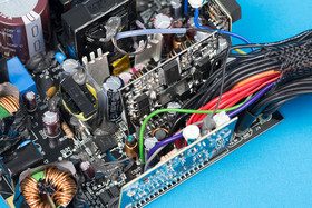 FSP Hydro X 550W – Sekundärseite
