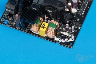 Bitfenix Whisper M 450W – Eingangsfilter