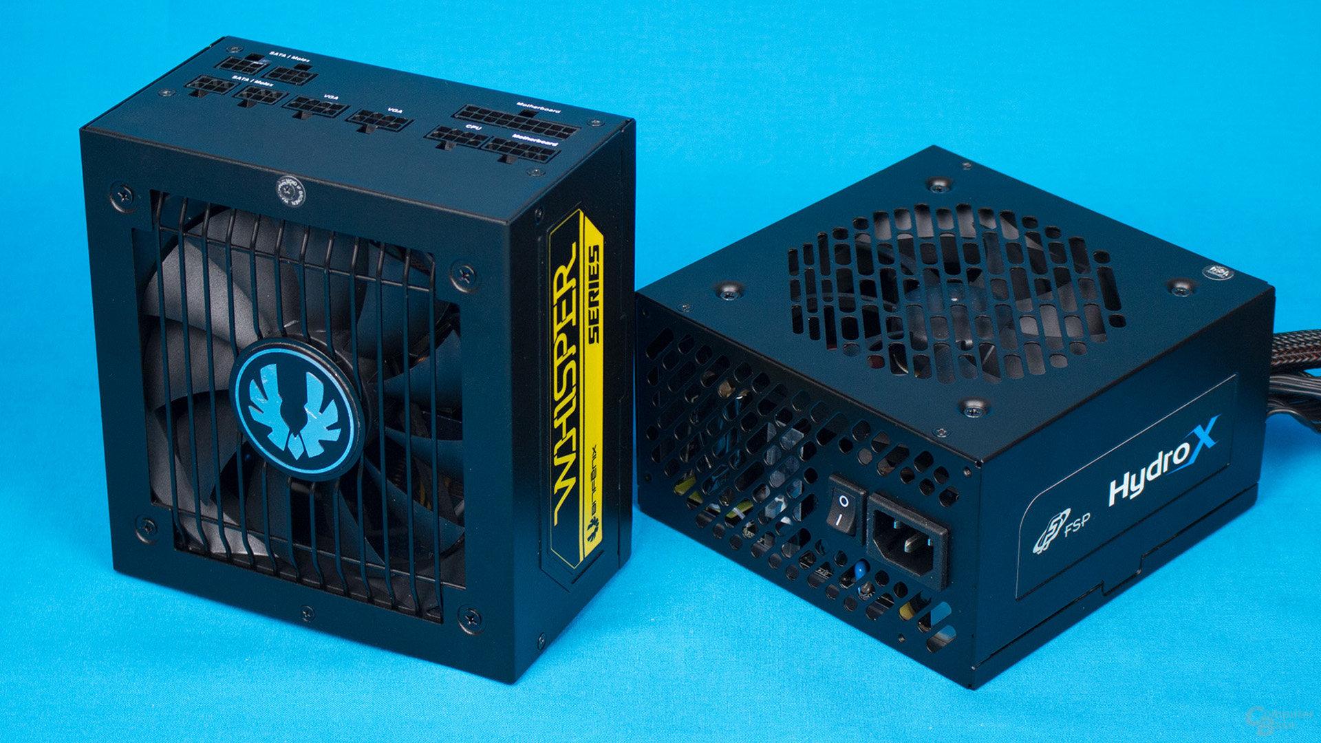 Bitfenix Whisper M gegen FSP Hydro X