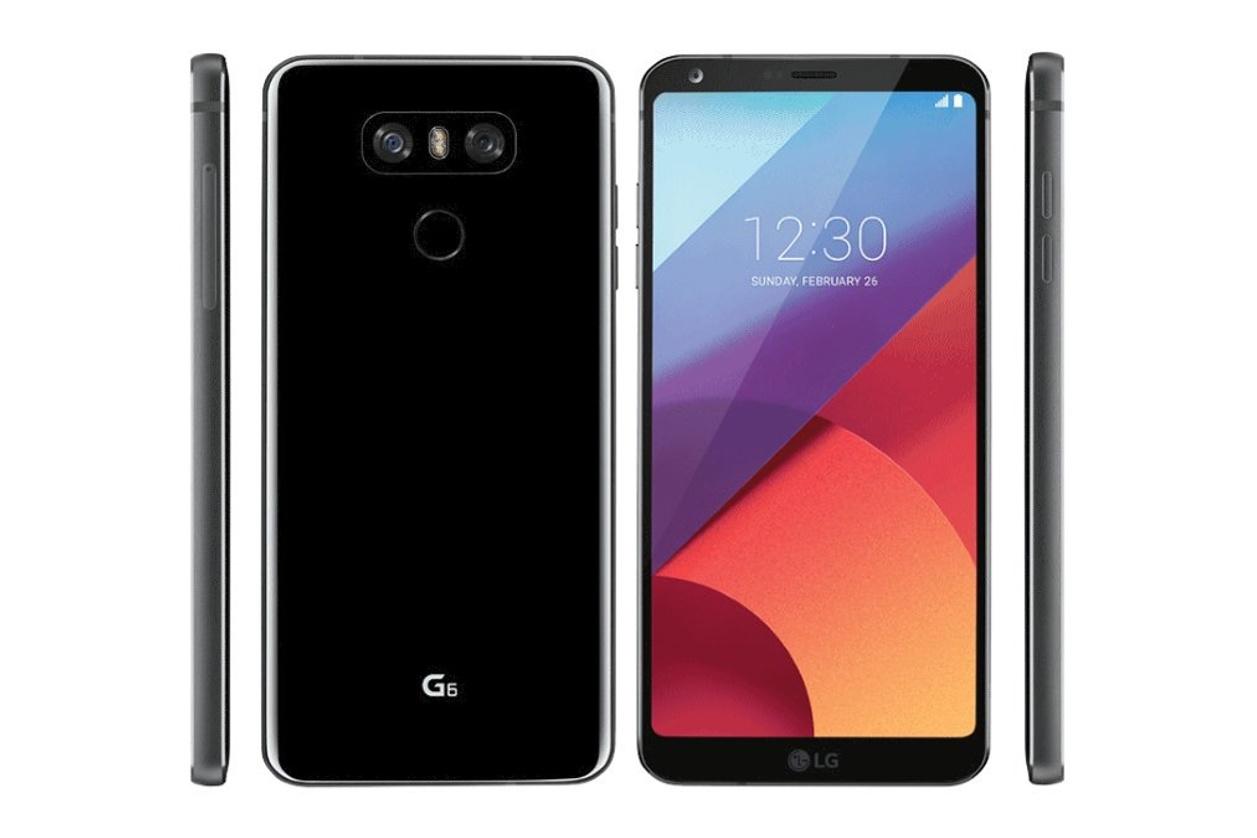 LG G6 in der Seitenansicht