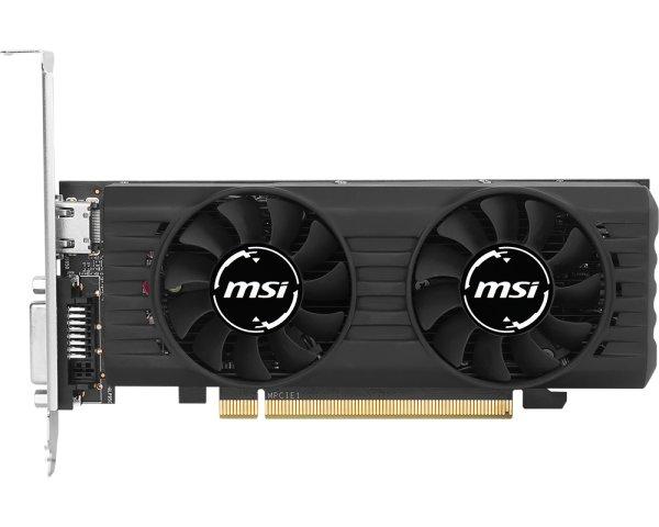 Die MSI Radeon RX 460 LP im Low-Profile-Format