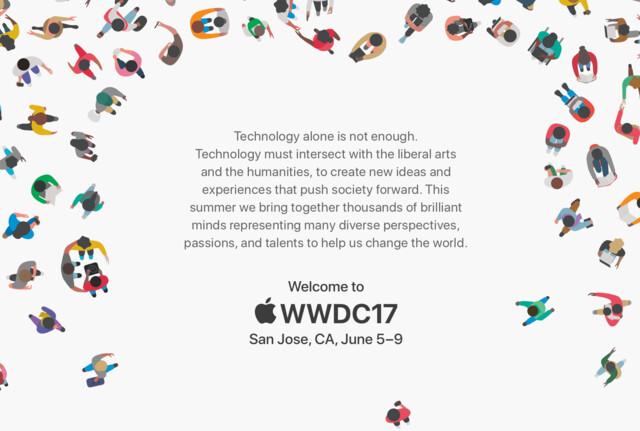 Die Apple WWDC 2017 findet vom 5. bis zum 9. Juni statt
