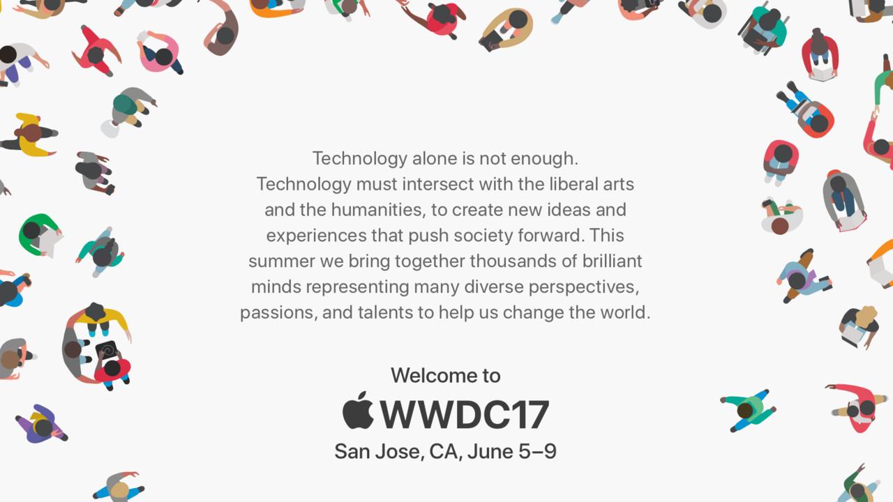 Termin: Apple WWDC 2017 vom 5. bis zum 9. Juni in San José
